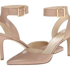 Nine West Callen Blush Nude Pumps